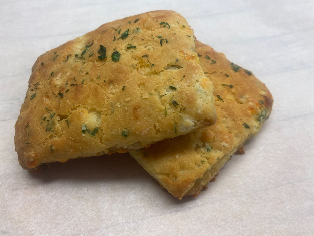 Herb and Cheddar Biscuits