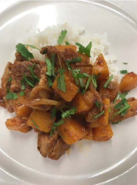 Thai Curry Pork with Butternut